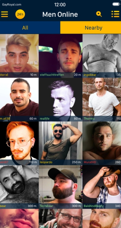 GayRoyal-Mobile App