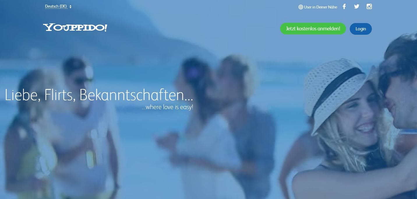 Neue Online-Bekanntschaften, Flirts und Abendteuer Youppido.de